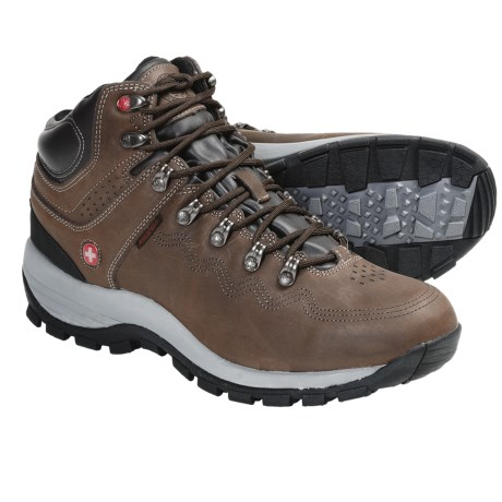 Wenger Outback Hiking Boots - Waterproof (For Men) in Brown