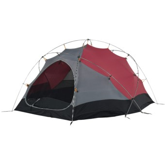 Wenger Rothorn 3 Tent with Footprint - 3-Person, 4-Season in Red