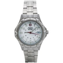 Wenger Standard Issue Watch - Stainless Steel (For Women) in White/Stainless Steel - Closeouts