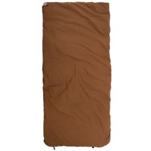 Wenzel 0°F Grande Sleeping Bag in Brown/Red Plaid - Closeouts