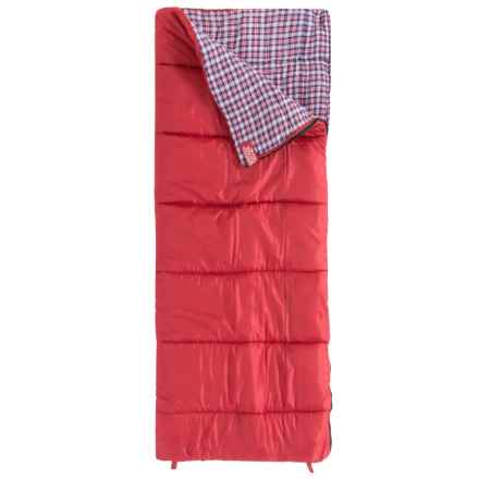Wenzel 30°F Cardinal Sleeping Bag - Rectangular in Red - Closeouts