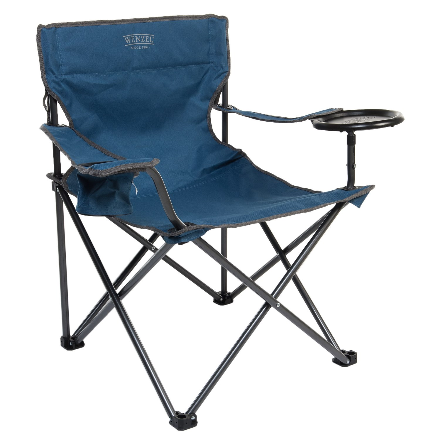 Wenzel Banquet Chair Xl Camping In Blue To Expand