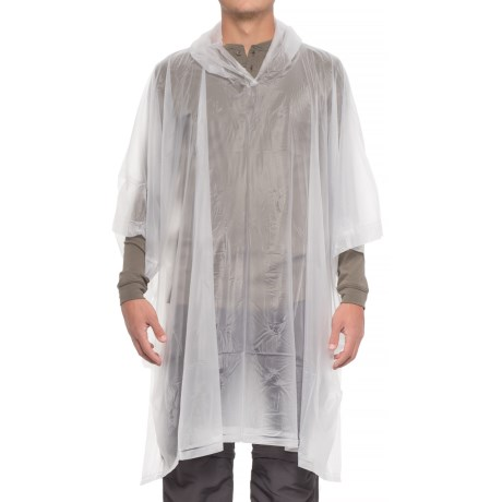Wenzel Hooded Vinyl Poncho in Clear