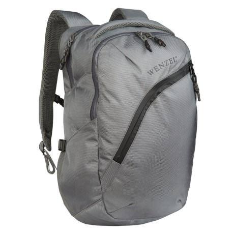Wenzel Influx 25L Backpack - Laptop Sleeve in Gray