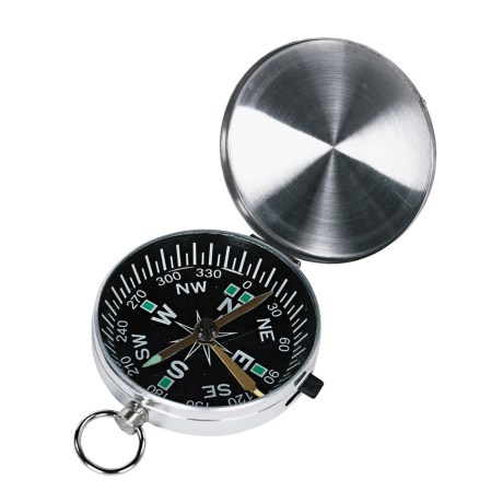 Wenzel Lidded Compass in See Photo