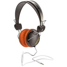 WeSC Bongo Headphones (For Men and Women) in Chocolate Brown - Closeouts