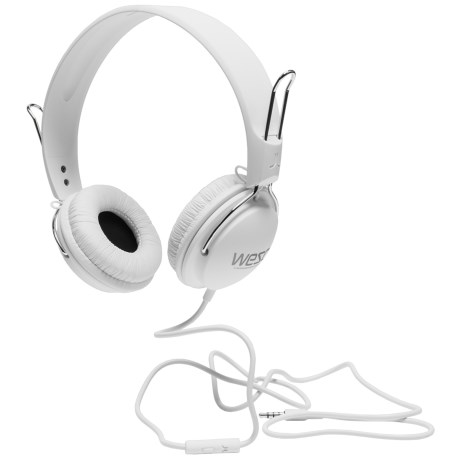 WeSC Tambourine Headphones (For Men and Women) in White