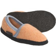 Wesenjak Slipper Moccasins - Boiled Wool (For Kids and Infants) in Apricot - Closeouts