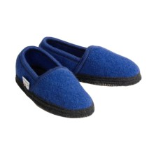 Wesenjak Slipper Moccasins - Boiled Wool (For Kids and Infants) in Royal - Closeouts