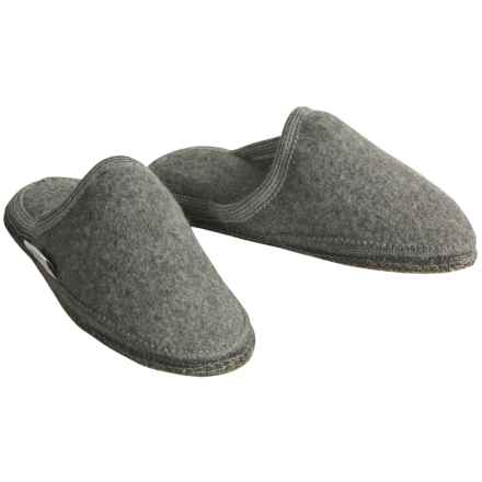 Wesenjak Slipper Slides - Boiled Wool (For Women) in Grey Heather - Closeouts