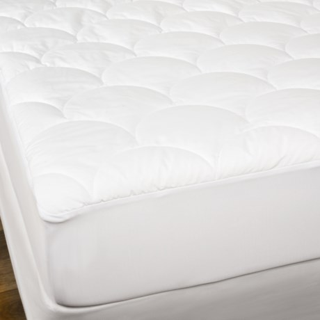 West Pacific Home Fashions West Pacific PurePedic Triple Protection Mattress Pad - King in White