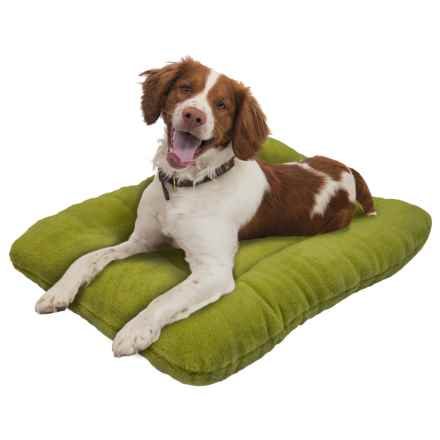 "West Paw Design Eco Nap Dog Bed - 32x22"" in Green Tea - Closeouts"