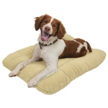 """West Paw Design Eco Nap Dog Bed - 32x22"""" in Pearl - Closeouts"""