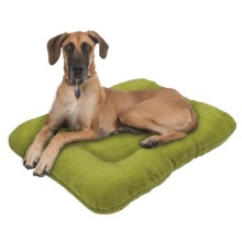 "West Paw Design Eco Nap Dog Bed - 40x27"" in Green Tea - Closeouts"
