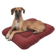"West Paw Design Eco Nap Dog Bed - 40x27"" in Loganberry - Closeouts"