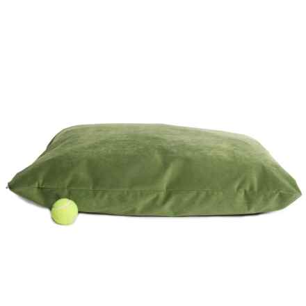 "West Paw Design Microsuede Pillow Bed -  Large, 32x24"" in Loden - Closeouts"