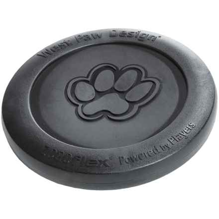 West Paw Design Zogoflex Zisc Frisbee in Black - Closeouts