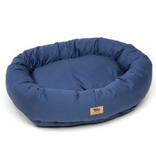 West Paw Designs Bumber Bed - Large, Cotton Cover in Navy - Closeouts