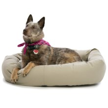West Paw Designs Bumber Bed - Large, Cotton Cover in Putty - Closeouts