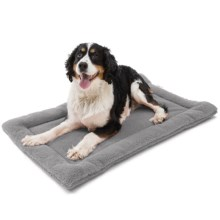 "West Paw Designs Nature Nap Dog Bed - 36x22"", Large in Gravel - Closeouts"