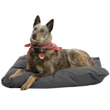 "West Paw Designs Pillow Dog Bed - 31x24"", Large in Slate - Closeouts"