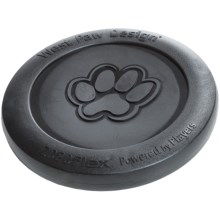 West Paw Designs Zogoflex Zisc Dog Frisbee in Black - Closeouts