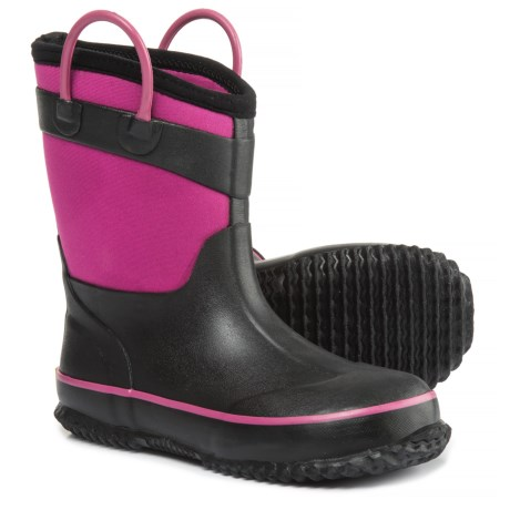 Western Chief Camo Neoprene Rain Boots - Waterproof (For Little and Big Girls) in Pink