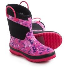 Western Chief Camo Neoprene Rain Boots - Waterproof (For Little Kids) in Black - Closeouts