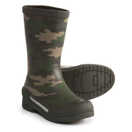 Western Chief Classic Ex Camo Rain Boots - Waterproof (For Boys) in Olive - Closeouts