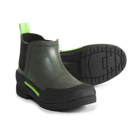 Western Chief Classic Twin Gore Rain Boots - Waterproof (For Boys) in Charcoal - Closeouts
