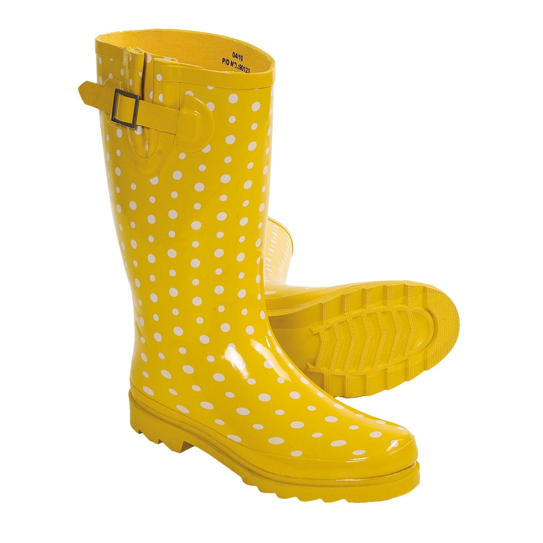 fashion rain boots for women