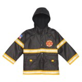 Western Chief Fire Department USA Captain Rain Jacket (For Toddler and Little Boys)