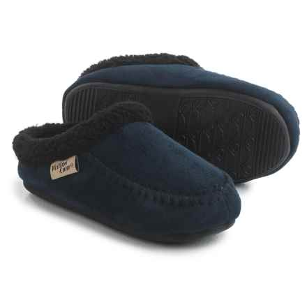 Western Chief Lodge Slippers (For Little and Big Kids) in Navy - Closeouts