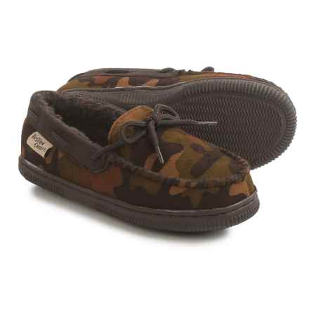 Western Chief Moc Slippers (For Little Kids) in Camo - Closeouts