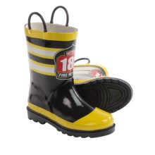 Western Chief Printed Rain Boots - Waterproof (For Toddlers) in Fire Rescue 181 - Closeouts