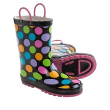 Western Chief Printed Rain Boots - Waterproof (For Toddlers) in Multi Dotty - Closeouts