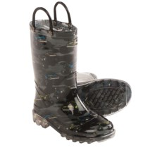 Western Chief Rain Boots (For Infants and Toddlers) in Monster Crusher Lighted - Closeouts