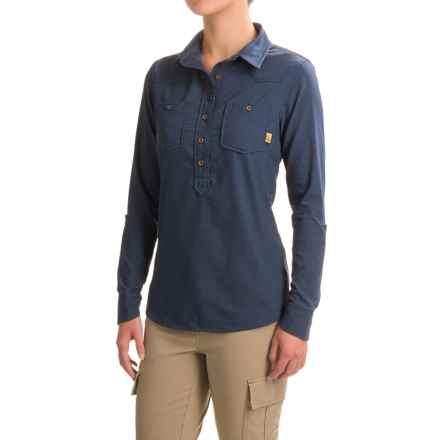 Western Rise Tomboy Shirt - UPF 30+, Long Sleeve (For Women) in Blue - Closeouts