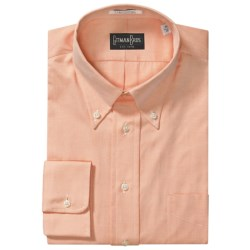 Westport Dress Shirt - Button Down, Long Sleeve (For Big and Tall Men) in Pink