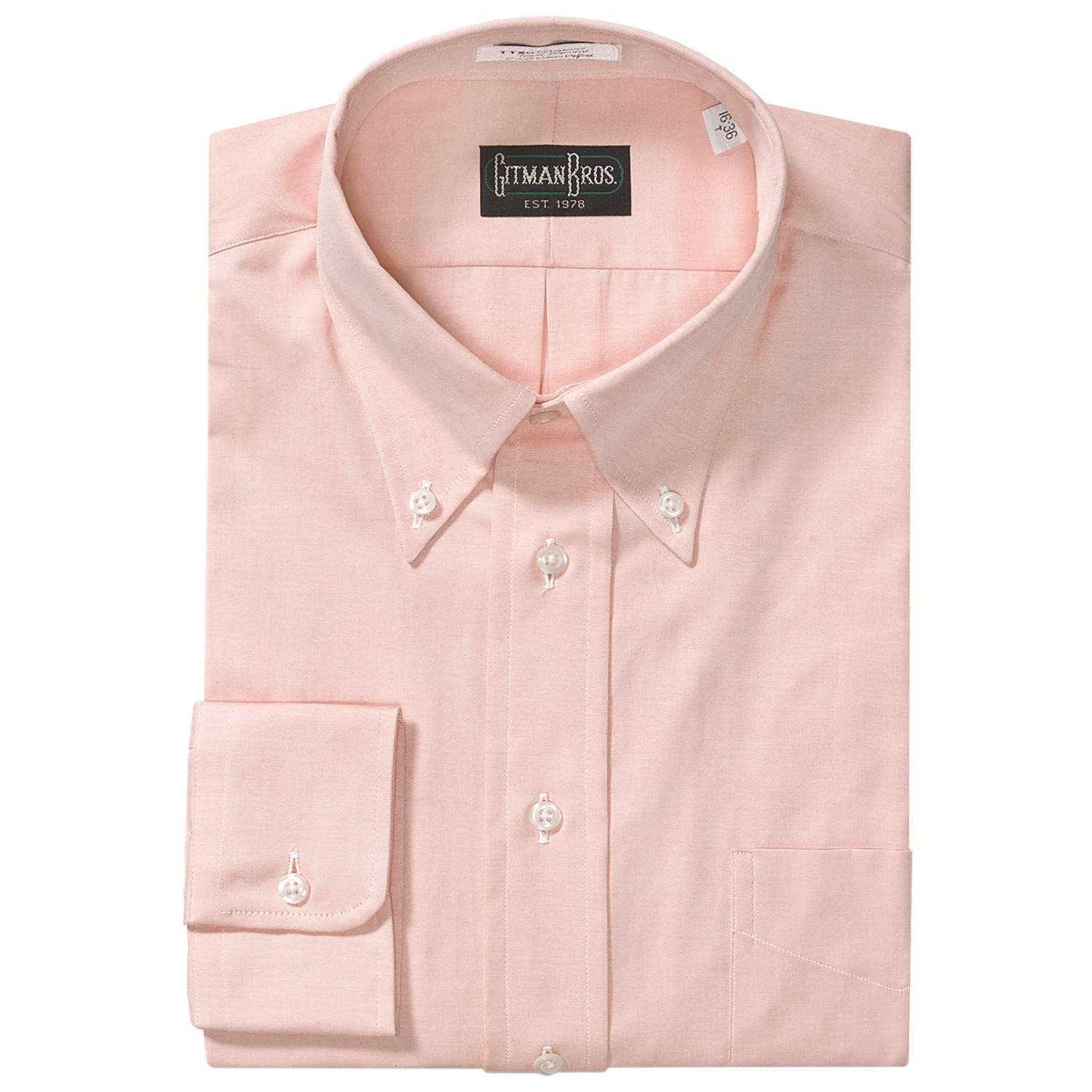 westport dress shirt button down long sleeve for big