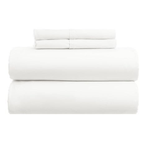 Westport Home Cotton Rich Sheet Set - King, 1000 TC in White