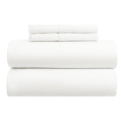 Westport Home Cotton Rich Sheet Set - Queen, 1000 TC in White