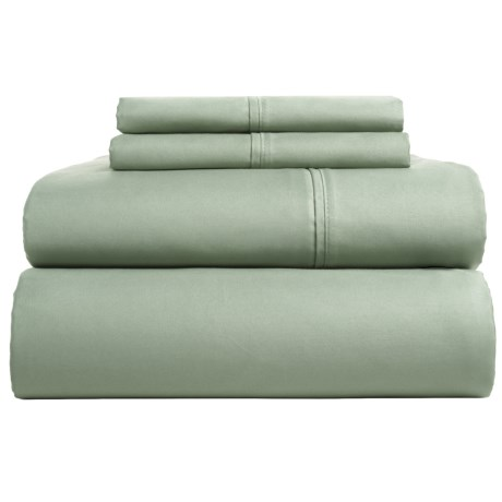 Westport Home Cotton Sateen Sheet Set King, 300 Tc