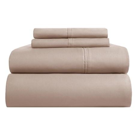 Westport Home Organic Cotton Sheet Set - King, 500 TC