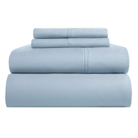 Westport Home Organic Cotton Sheet Set Queen, 500 Tc