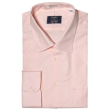 Westport Solid Dress Shirt - Spread Collar, Long Sleeve (For Big and Tall Men) in Pink - Closeouts