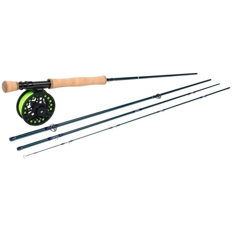 Wetfly Element Rod and Reel Combo