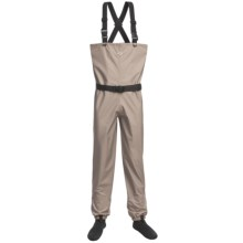 Wetfly Hydride Waders  - Stockingfoot (For Men) in Tan - Closeouts