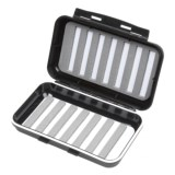 Wetfly Medium Waterproof Plastic Fly Box - 14-Row, Medium