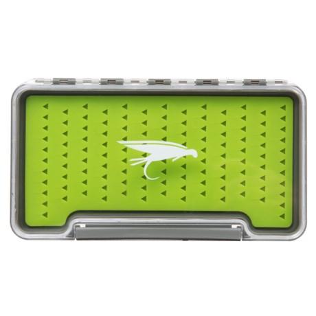 Wetfly Slim 121 Waterproof Fly Box in See Photo